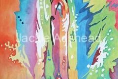 Queynte 16 - 20 x 16 inches Acrylic on board