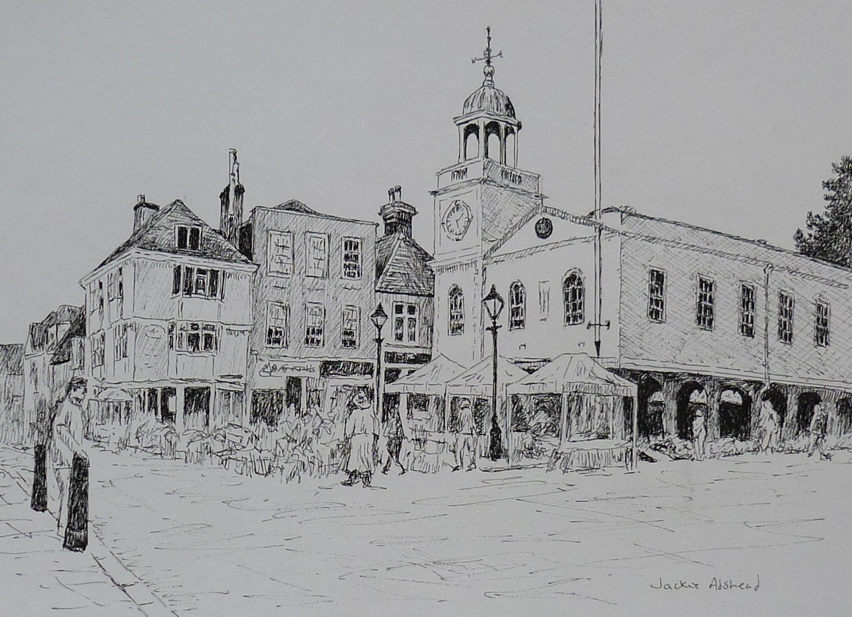 Latest Kent drawings including one of my all time favourite places